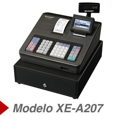 Cajas Registradoras sharp XE-A207