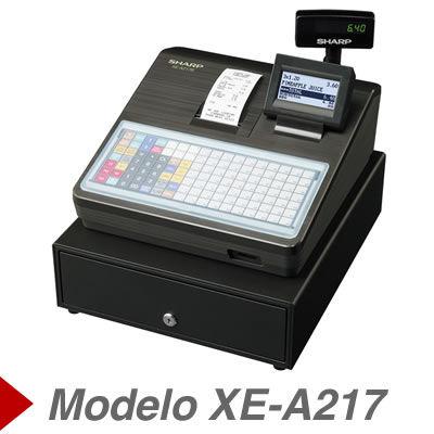 Cajas Registradoras sharp XE-A217