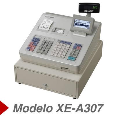 Cajas Registradoras sharp XE-A307