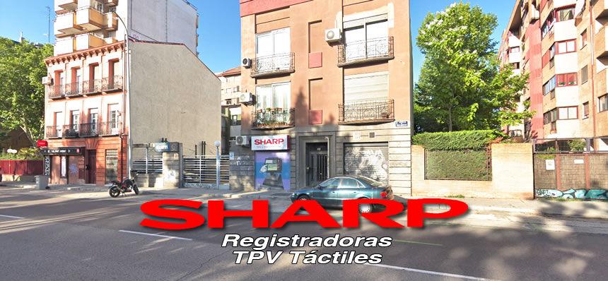 Calle de la Empresa sharp tpv y cajas registradoras
