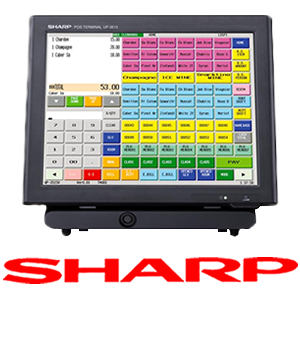 Logo sharp Registradoras TPV