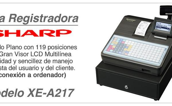 Modelo y Caracteristicas Registradora XE-A217