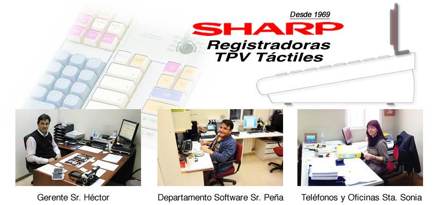 Personal del servicio tpv registradora