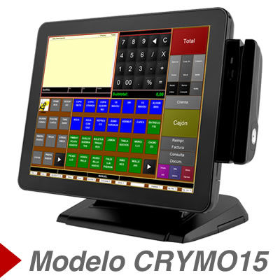 tpv tactil sharp CRYMO15