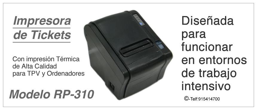 Impresora de Ticket para todo tipo de Comercios y Tiendas Ideal para la Hostelería y Alimentación