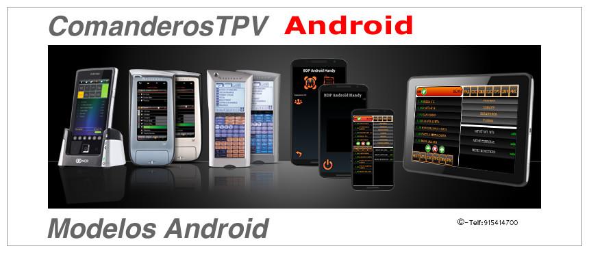 Comandero TPV Android para instalar en cualquier dispositivo Android