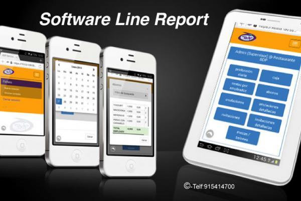 Software Line Report el control de su negocio desde el móvil