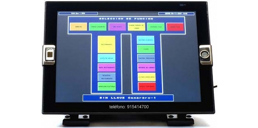 Pi Electronique el TPV Táctil para Restaurantes