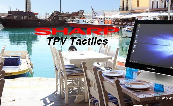 tpv tactiles sharp Soluciones informáticas